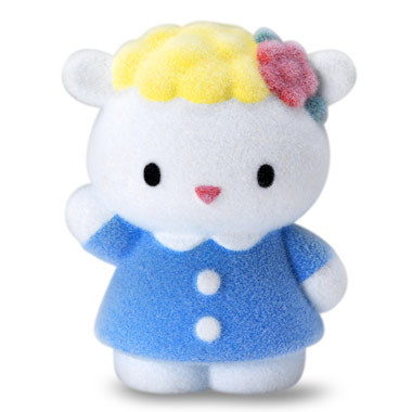 34857726a Hello Kitty Vellutata Hello Kitty and Friends Fuzzy Figures - Choice of  Figure